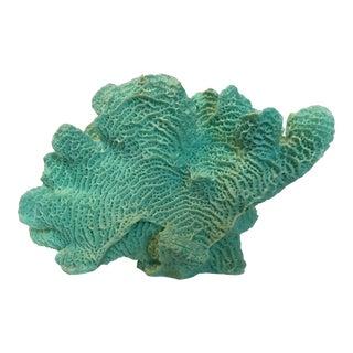 Mounted Faux Coral Specimen
