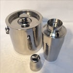 Image of Hammered Stainless Steel Bar Set