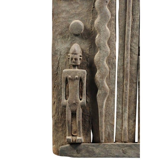 Monumental Hardwood African Granary Door - Image 5 of 9