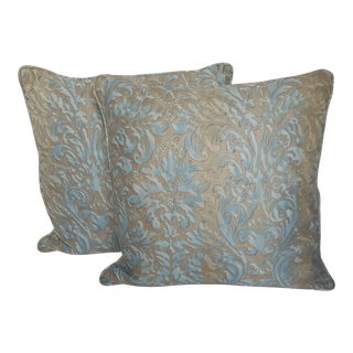 Mariano Fortuny Italian Pillows - a Pair