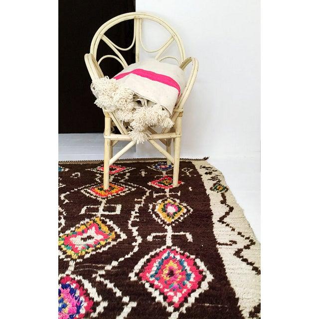 Image of Azilal Moroccan Wool Rug - 4′5″ × 6′1″
