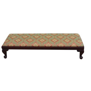 Vintage Queen Anne Tabouret Bench