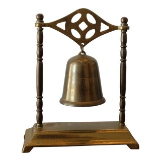 Vintage Brass Table Bell