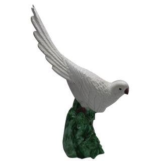 Vintage Cockatoo Statue