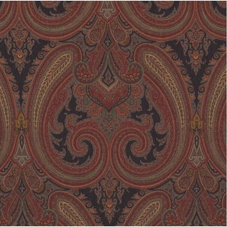 Ralph Lauren Galsworthy Paisley Ember Fabric - 5 Yards