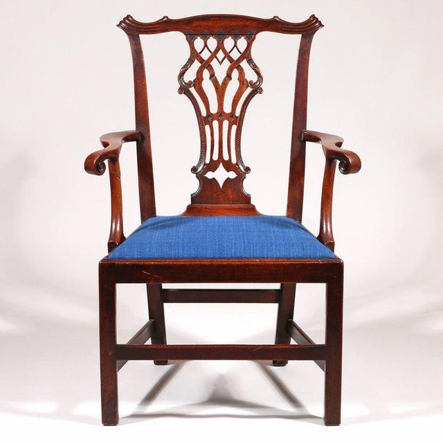George III Mahogany Armchair - Image 3 of 8