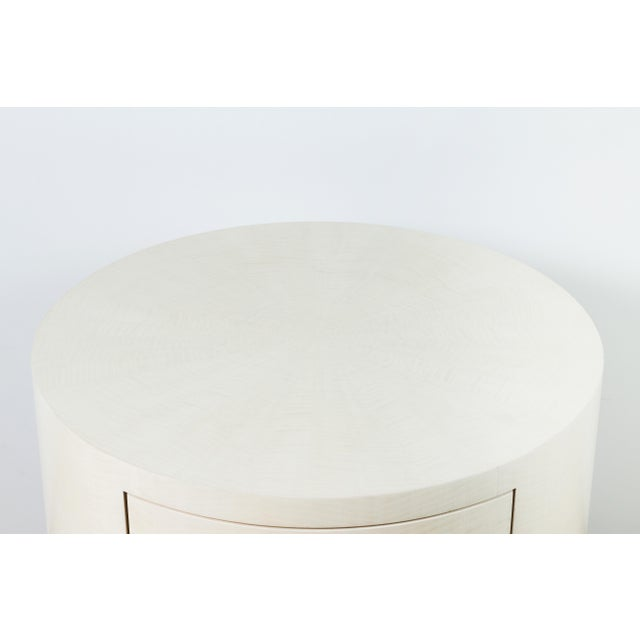 Italian-Inspired 1970s Style Round Nightstand - Image 6 of 8