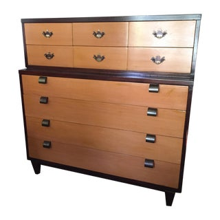 American of Martinsville Highboy Chest