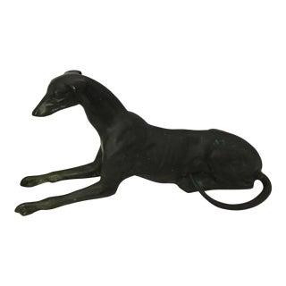 Whippet Dog Figurine