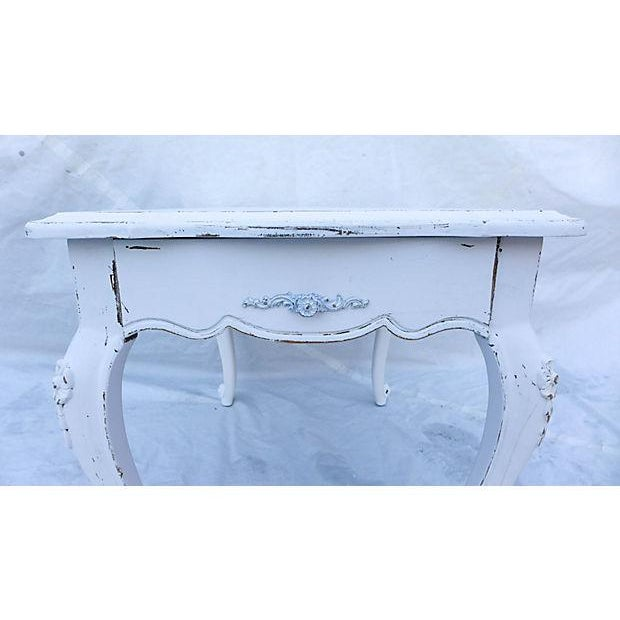 French Cottage Style Side Table - Image 3 of 8