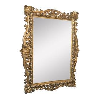 Vintage Gold Painted Ornate Mirror