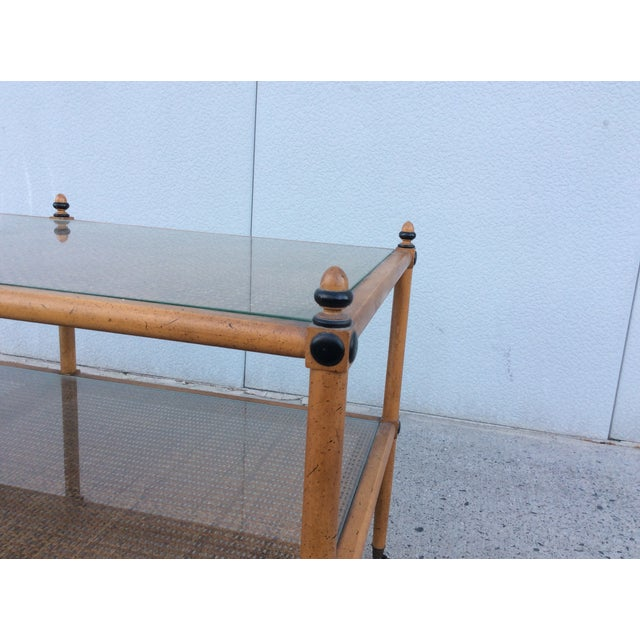 1960's Hollywood Regency Two Tiered Console - Image 8 of 11