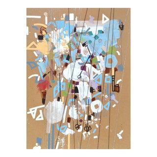 Carruth Welssy by Philippe Halburda (Original Acrylic Painting on Cardboard)