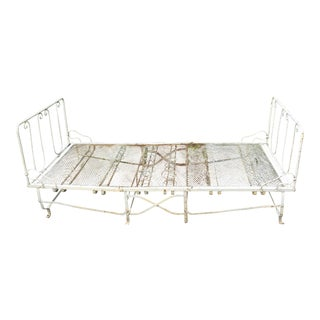 French Folding Iron Daybed