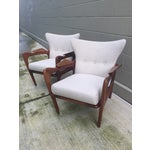 Image of Adrian Pearsall Sculptural Lounge Chairs - Pair