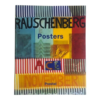 """ Rauschenberg Posters "" Rare 1st Edtn Collector's Lithograph Print Art Book"