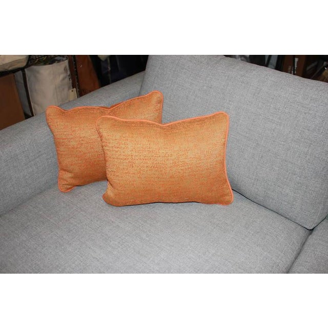 Image of Burnt Tangerine Outdoor Pillows