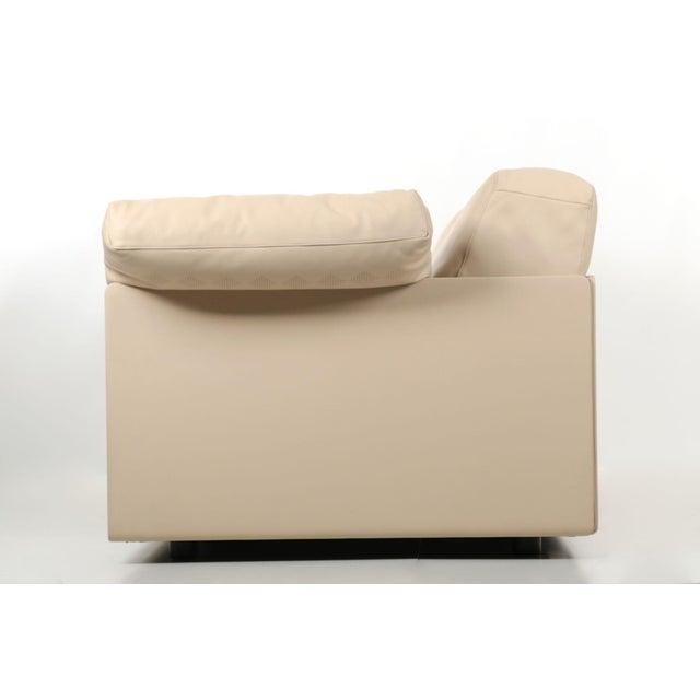 """Lievore Altherr Molina for Poltrona Frau """"Cassiopea"""" Leather Sofa - Image 6 of 11"""