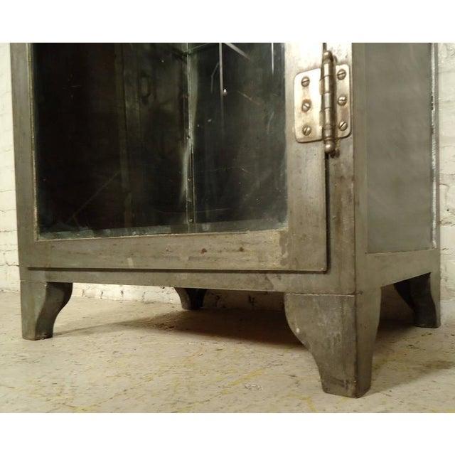 Industrial Metal Display Cabinet - Image 5 of 9
