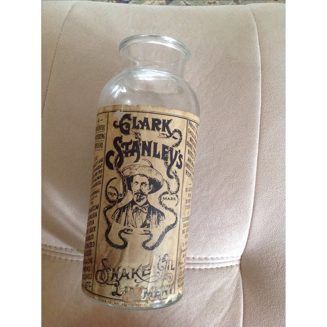 Clark Stanley's Snake Oil Apothecary Jar - Image 2 of 7