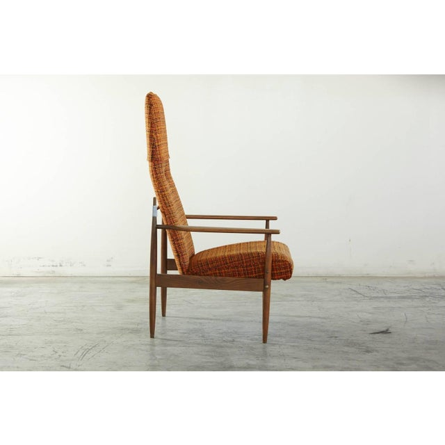 Image of Peter Hvidt Tall Lounge Chair