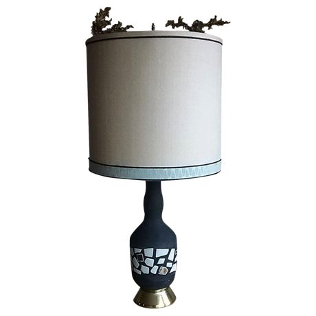 Midcentury Modern Marboro Lamp with Original Shade - Image 1 of 4