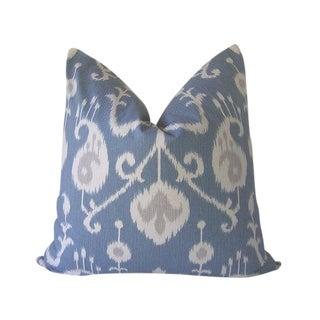 Blue Tribal Custom Pillow Cover
