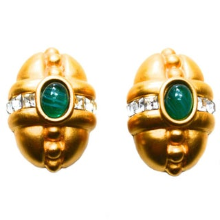 Givenchy Glass Earrings