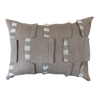 Stripes Natural Linen Pillow