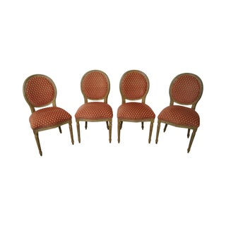 Pearson Venetia French Louis XVI Style Dining Chairs - Set of 4