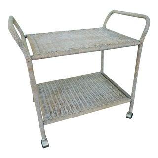Vintage Boho Chic Bar Cart