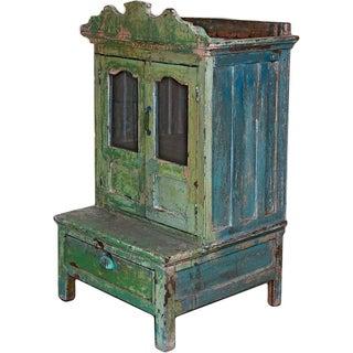 Pink & Green Bygone Boudoir Cabinet