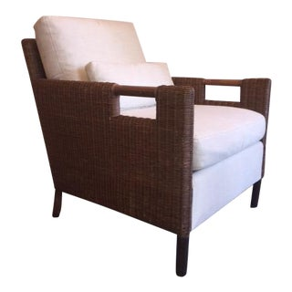 Thomas Pheasant for McGuire Woven Core Lounge Chair