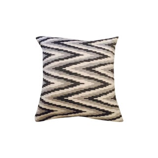 Ikat Hand-Loomed Pillow