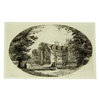 Manor House, York, England 1880s