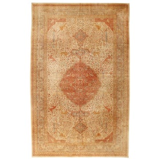 Antique 19th Century Hereke Carpet