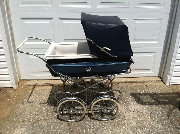 Bilt Rite 1960s Cadillac Baby Carriage Stroller   Image 2 Of 8