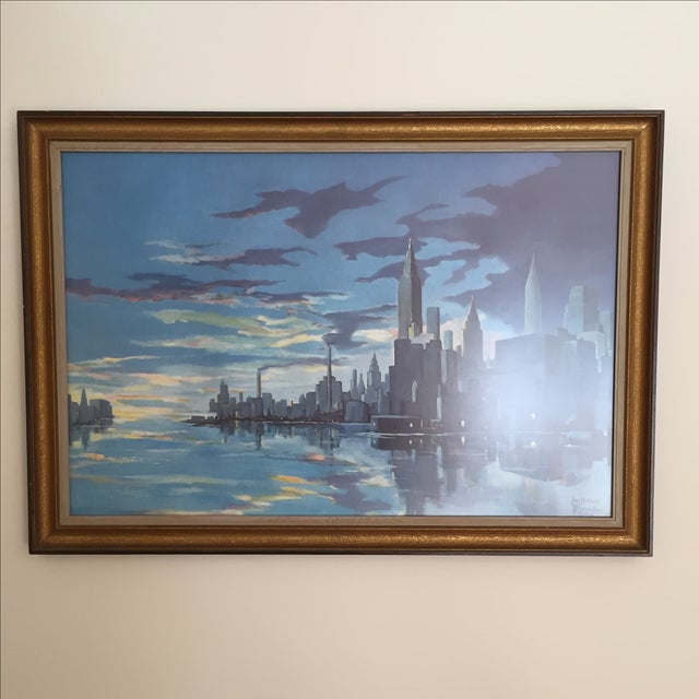 Image of Blumenthal Cityscape Framed Print