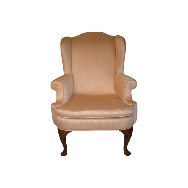 Bernhardt Wingback Chair - Image 1 of 8