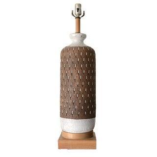 Aldo Londi Bitossi Ceramic Lamp