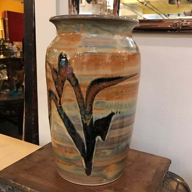 Vintage Studio Pottery Vase - Image 2 of 9