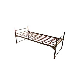 Historic 1850s Metal Miner's Bed