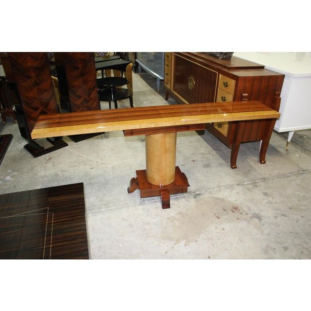 French Art Deco Palisander Console Table - Image 4 of 10