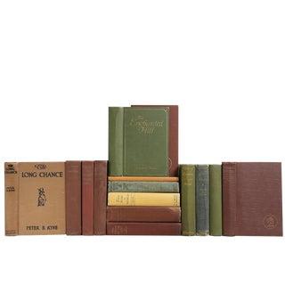 Vintage Earthtone Novels, S/15