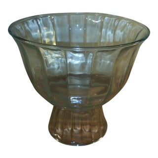 Indiana Glass Clear Ultimate Footed Serving Bowl