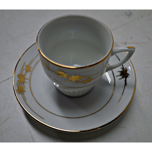 Image of Regency Cups & Saucers with Hanger - Set of 6