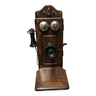 Antique Kellogg Cathedral Wall Phone