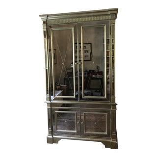 Neiman Marcus Mirrored Armoire