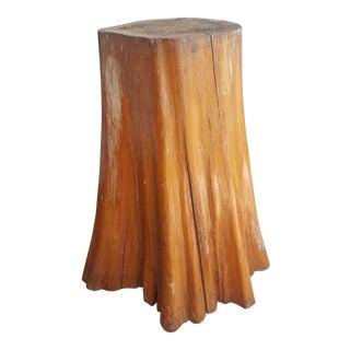 Organic Tree Stump Table