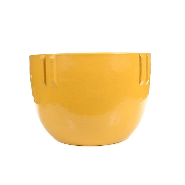 Bauer Original 1915 Indian Pot, Glazed Yellow - Image 5 of 9